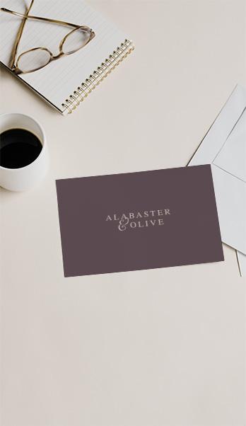 Alabaster & Olive